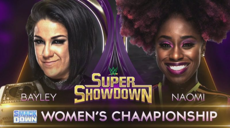 WWE.com Super ShowDown SmackDown Women's Championship Match Preview