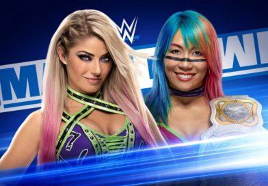 Asuka Vs Alexa Bliss Announced for Next Week's Friday Night SmackDown