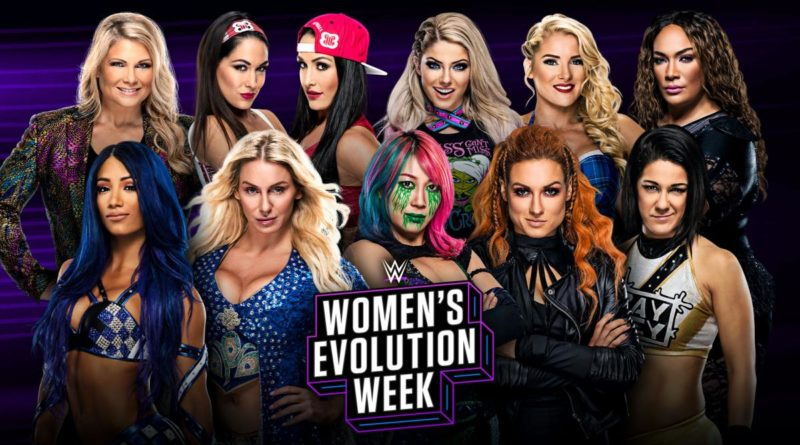 WWE to celebrate the Women's Evolution in week long tribute to Women's Division