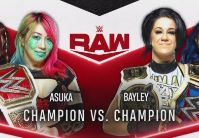 Asuka Vs Bayley Announced for Next Week's Monday Night RAW
