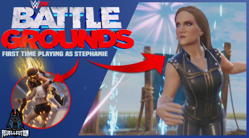 WWE 2K Battlegrounds: First Time Playing as Stephanie