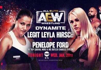 Results: AEW Dark 19/01/21 & Dynamite 20/01/20 – Ford Vs Hirsch, Shanna Vs Daniels, Swole Vs Gracia & more!
