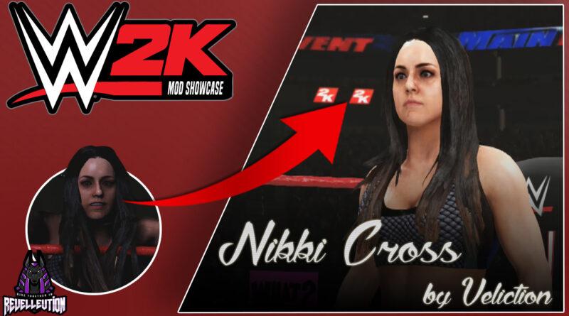 WWE 2K Mod Showcase: Nikki Cross Mod! #WWE2KMods #WWE #NikkiCross