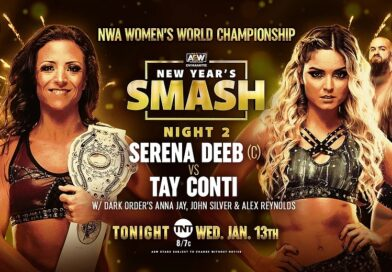 Results: AEW Dark 12/01/21 & Dynamite New Year's Smash Night 2 13/01/21 – NWA Women's Title: Conti Vs Deeb, Velvet Vs Bates, Jay Vs Gracia, & more!